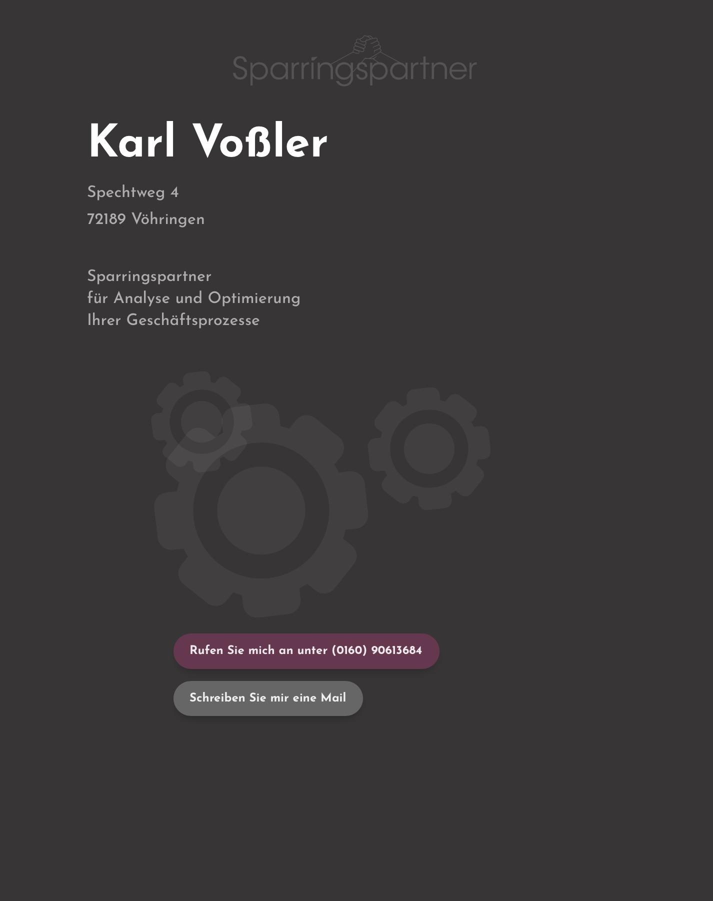 Karl-Vossler-Sparringspartner